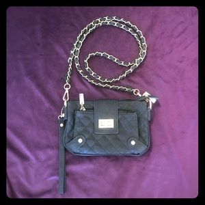 Handbags - Black Quilted Purse